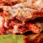 The Italian concept of fast food: Lasagnam