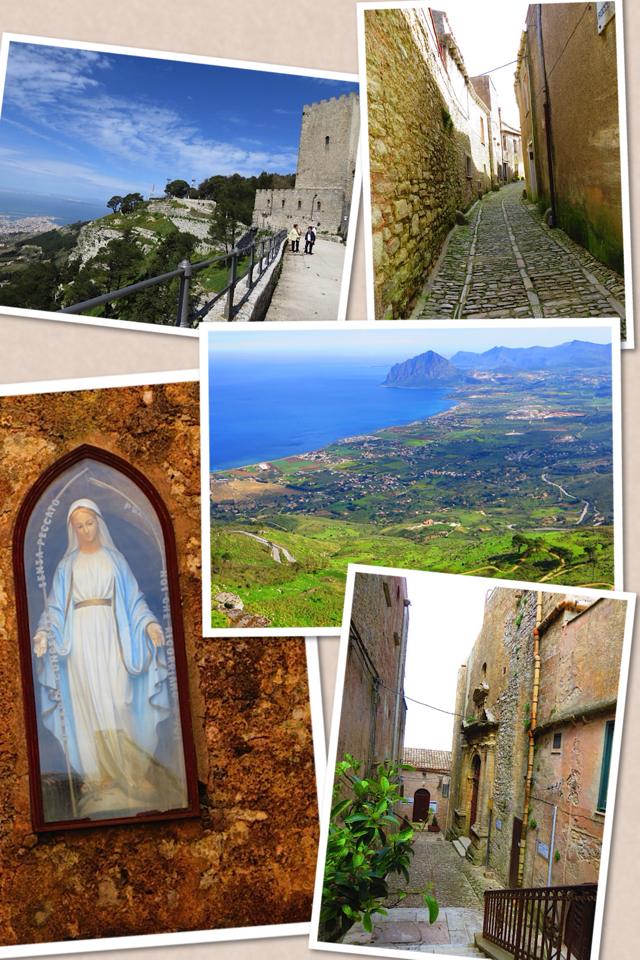 Our 8 day trip in Sicily. First day: Erice, San Vito lo Capo, Monreale (and back to Erice).