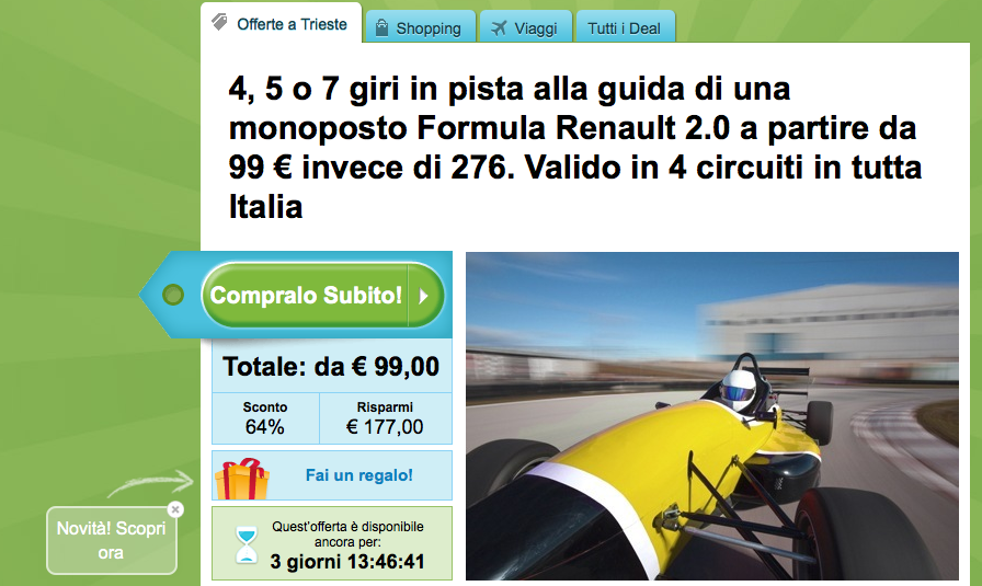Groupon in Italy