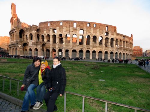 Our paperless trip to Rome