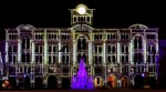 An amazing Christmas light show in Trieste