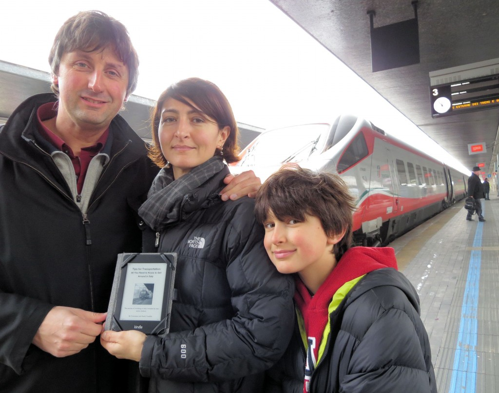 Release of the new eBook on Transportation in Italy by Paolo and Francesca