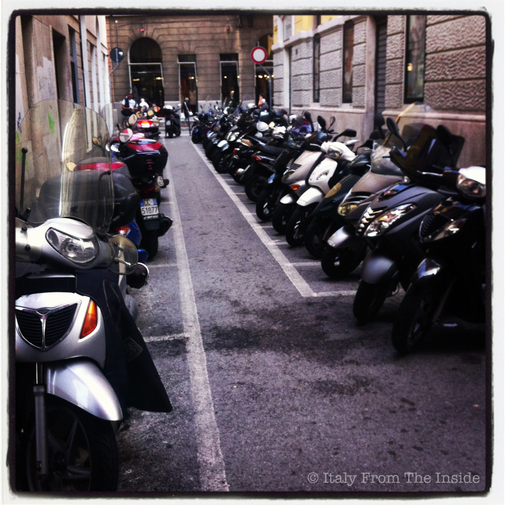 Scooter parking- Italy from the Inside