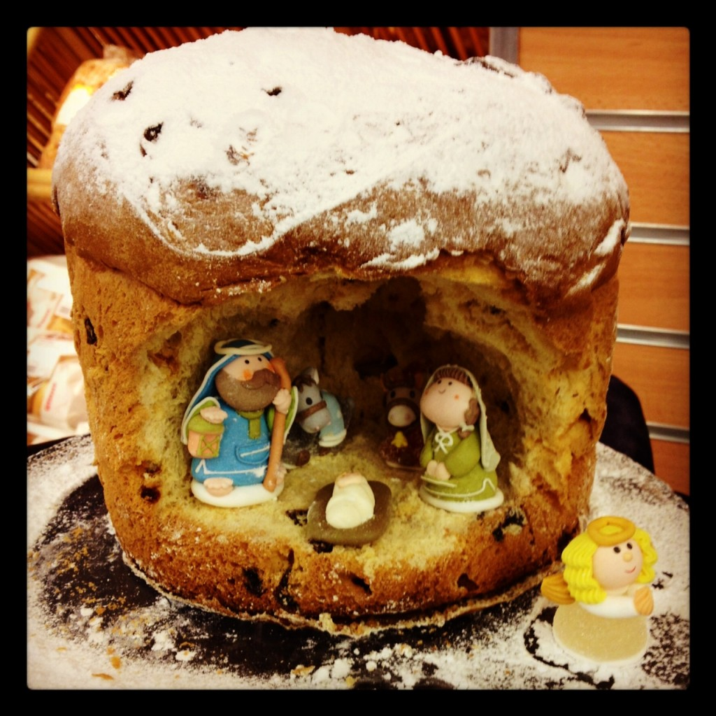 How To Make A Nativity Scene With A Panettone Italy From